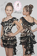 """Платье """"с хвостом"""" для тренировок и выступлений"""