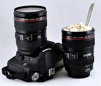 Чашка – объектив - термос Caniam EF 24-105Мm f/4L USM., фото 1