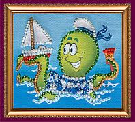 Набор-магнит для вышивки бисером «Морской десант»