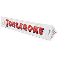 Белый  шоколад Toblerone  c нугой из меда и миндаля , 100 гр
