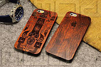 Деревянный чехол для iPhone 5/5s, 6/6plus