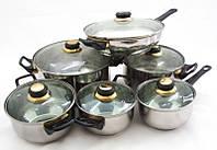 Набор посуды 12 предметов Martex 26-211-005