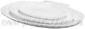 Блюдо ракушка овальное 26х19 см Helfer 21-04-062