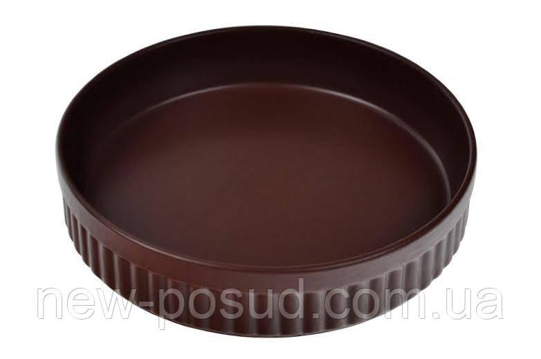Форма для випечки круглая 24см Табако керамика.TM Keramia. 24-237-051
