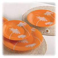 Столовый сервиз на 6 персон из 18 предметов Luminarc Thais Orange L1226