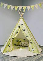 Детский комплект с вигвамом «Пандочки»