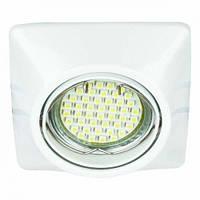 Встраиваемый светильник Feron DL6046 белый, золото, хром, фото 1