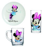 Набор 3 предмета Luminarc Disney Minnie Colors H5321