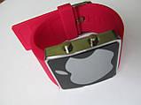 Ультра модные спортивные унисекс часы красные , фото 6