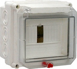 Коробка монтажная пластиковая SW-51 с открыв. крышкой