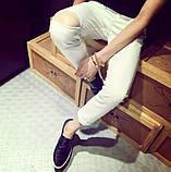 Мужские штаны с рваным коленом, фото 3