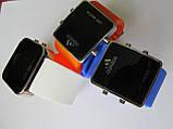 Ультра модные спортивные унисекс часы красные , фото 9
