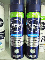 Nivea Men Пена для бритья  Originals + 25 % 250 мл