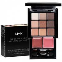 NYX S109N Nude on Nude Natural Look Kit - Набор теней