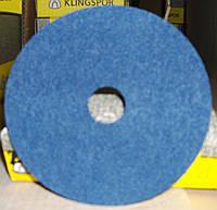 Фибровые круги фибра CS 565 Klingspor для обработки нержавеющей стали и цветных металлов