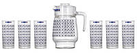 Набор кувшин и 6 стаканов Luminarc Aldwin L2418