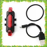 Велосипедный фонарик Rapid X USB AQY-093 , фото 1