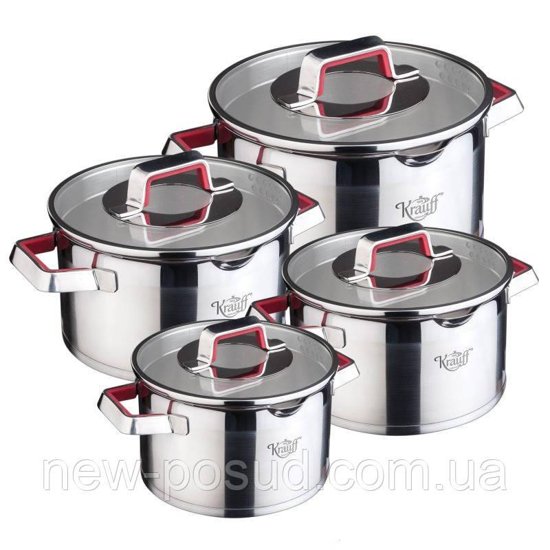 Набор посуды Krauff Moderne Rot 26-202-010 8 предметов