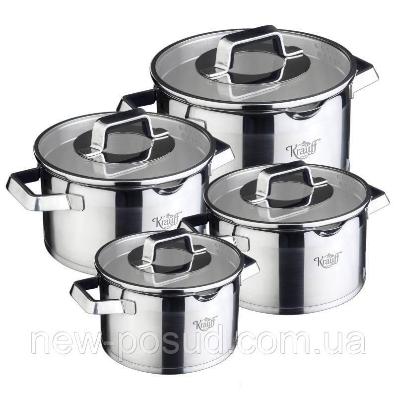 Набор посуды Krauff Moderne Schwarz 26-202-011 8 предметов