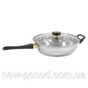 Сковорода из нержавеющей стали Martex 26-157-006 24 см