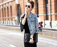 Стильная женская джинсовая курточка