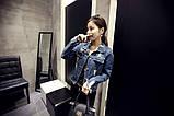 Джинсовая рваная курточка, фото 7