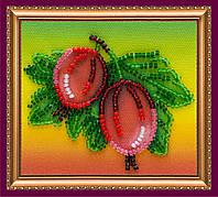Набор-магнит для вышивки бисером «Крыжовник»