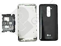 Корпус LG D800 Optimus G2, черный, оригинал (Китай)