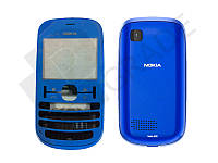 Корпус Nokia 200 Asha, синий
