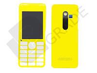 Корпус Nokia 206 Asha, желтый