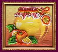 Набор-магнит для вышивки бисером «Персик»
