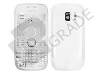Корпус Nokia 302 Asha, белый - желтое пятно на стекле вверху