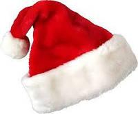 Новогодняя шапка Деда Мороза (меховая)