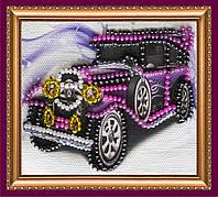 Набор-магнит для вышивки бисером «Ретро авто»