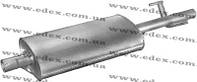 Глушитель Mercedes Sprinter 2.9TDi 1996-2006 алюминизированный,EDEX 30.232