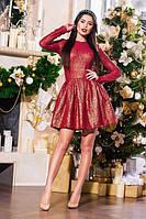Женское платье,кружево с паетками+фатиновый подъюбник.