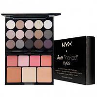 NYX S122 Butt Naked Eyes Make Up Palette  - Набор декоративной косметики