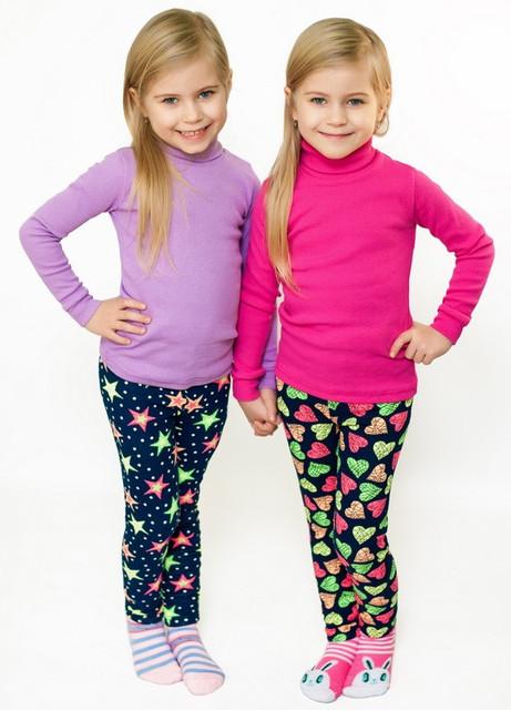 Лосины и джинсы для девочек