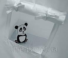 Подушка хлопковая мягкая для детской «Пандик»