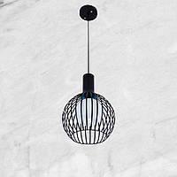Люстра в стиле модерн 07-6341-1 черная