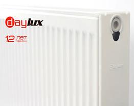 Радиатор стальной DayLux 22тип 300*1400 бок.подкл., фото 2