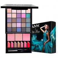 NYX S125 Be Free Make Up Palette  - Набор декоративной косметики