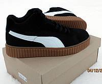 Мужские зимние ботинки Puma Rihanna (зимние кроссовки пума) (41-46 рр)