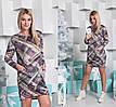 Женское платье - туника, французский трикотаж, р-р универсальный 42-46