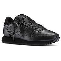 Кроссовки мужские оригинальные  Reebok Classic Leather Black