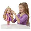 Кукла принцесса Рапунцель Магия волос светящиеся волосы 38 см Disney Princess Magic, фото 3