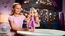Кукла принцесса Рапунцель Магия волос светящиеся волосы 38 см Disney Princess Magic, фото 4