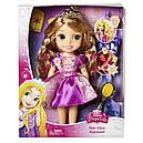 Кукла принцесса Рапунцель Магия волос светящиеся волосы 38 см Disney Princess Magic, фото 5
