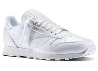 Кроссовки мужские оригинальные  Reebok Classic Leather White