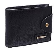 Модное мужское портмоне 209-01 black